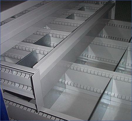 Estanterias metalicas ligeras metalkom accesorios - Cajones para estanterias ...