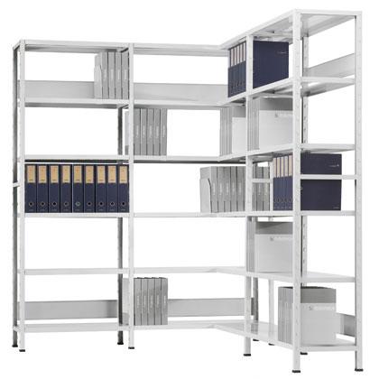 Estanter a de oficina metalkom sistemas de almacenaje estanter a met licas - Estanterias metalicas de diseno ...
